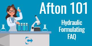 Afton 101 - Hydraulic - Formulating FAQ thumbnail