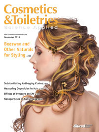 Cosmetics & Toiletries November 2013 Cover