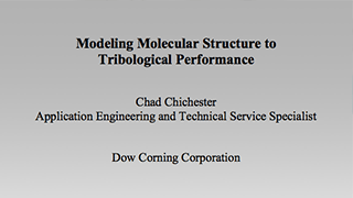 Modeling Molecular Structure to Tribological Performance